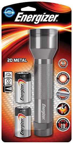 Energizer Lampe Torche à LED, Métal, Piles Incluses