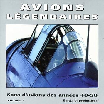 Avions Légendaires, Vol. 1 (Sons d'avions des années 40 et 50)