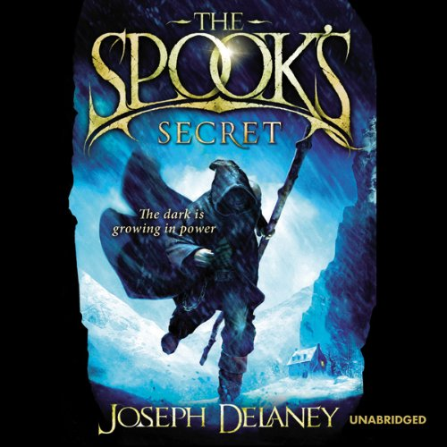 The Spook's Secret audiobook cover art