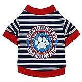 Fossrn Ropa Perro Pequeño Chihuahua Yorkshire Camiseta con Rayas de...