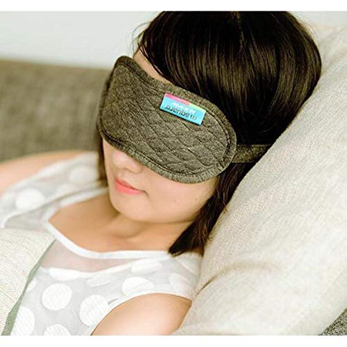 凍ったメカニック疑いNOTE 1ピースナチュラルスリーピングアイマスクアイシェード3dアイマスクトラベルツール低反発睡眠シェードカバー睡眠目隠しC2
