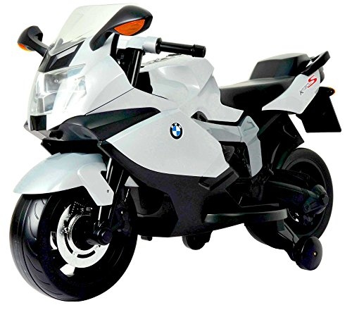 Best Ride On Cars BMW Motorcycle 12V, White