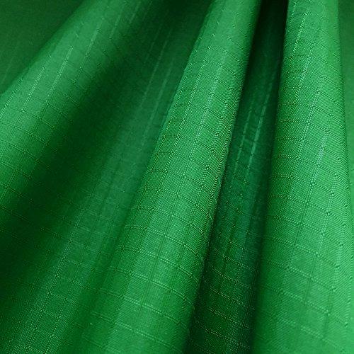 emma kites Dark Green Ripstop Nylon Fabric 1.4Oz yd² 60'x108'(WxL) 40D Water Repellent Windproof Dustproof Airtight PU Coating - Outdoor Fabric for Kites Inflatable Duffel Bag Flag Cover Hammock