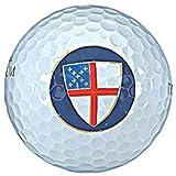 Golf-43 Episcopal Church Golf Ball Sleeve with Episcopal Sheild Symbol