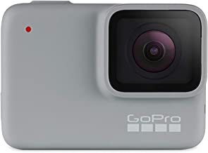 GoPro Hero 7 White - Waterproof Digital Action Camera with Touch Screen 1080p HD Video 10MP Photos CHDHB-601 - Bundle