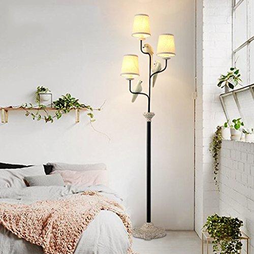 Vloerlamp vloerlamp woonkamer landelijke slaapkamer studie bird staande lamp E14 40W LED