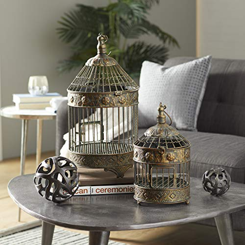 Deco 79 Metal Bird Cage, 24-Inch an…