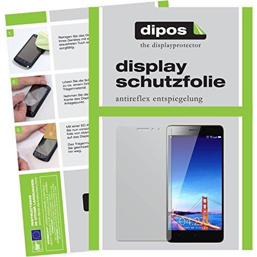 dipos I 2X Protector de Pantalla Mate Compatible con Lenovo K3 Note pelicula Protectora