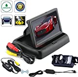 "BW® High Quality 4.3"" TFT LCD Foldable Car Dashboard Rear View Car Monitor+"