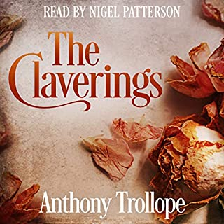 The Claverings audiobook cover art