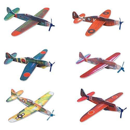 Rhode Island Novelty Glider Planes 24 Pack