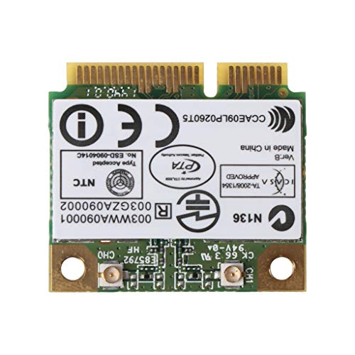 dedepeng - Scheda WLAN CSL per computer wireless Atheros AR9287 AR5B97 300 Mbps 802.11 B G N Mini Halb PCI-E Wi-Fi