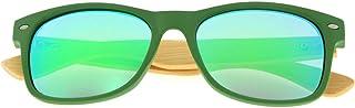 Eyekepper Men's Bamboo Wood Arms Classic Polarized Sunglasses