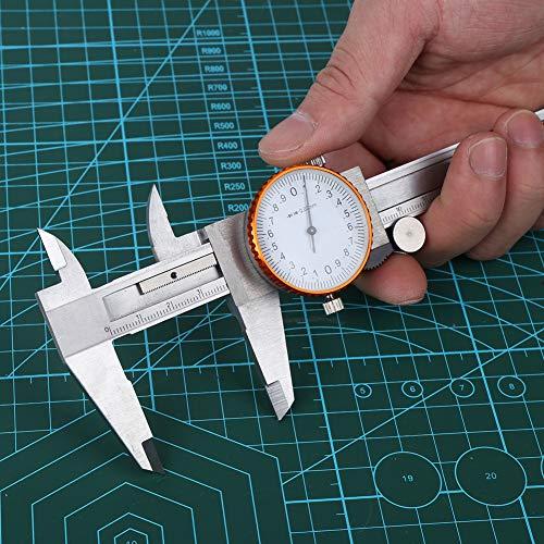Varios calibradores a prueba de golpes, talla 150 (mm) aleación de aluminio de acero inoxidable hecho