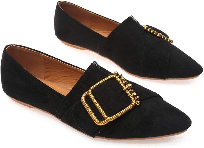 Flache Schuhe der Frauen beilufige Arbeitsschuhe Stiefelschuhe