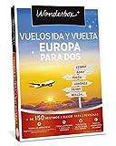 WONDERBOX Caja Regalo - VUELOS IDA-Vuelta Europa para Dos - Más de 150 destinos a Elegir. Todas Las Fechas y horarios.