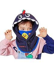 TRIWONDER Pasamontañas Niños Cálido Grueso Sombrero de Invierno A Prueba de Viento Cubierta de Capucha Calentador de Cuello para Esquí Nieve Ciclismo