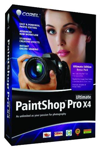 Paintshop Pro X4 Ultimate [import anglais]