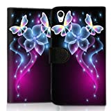wicostar Wallet Book Style Flip Handy Tasche Hülle Schutz Hülle Schale Motiv Etui für LG L Bello - Flip UMH14 Design7
