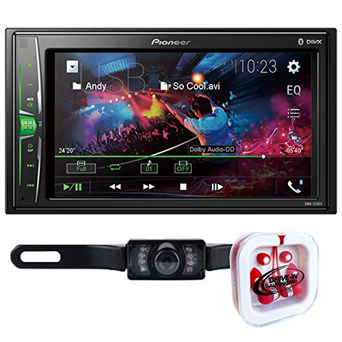 "Pioneer DMH-220EX 6.2"" Mechless Digital Media Receiver w/License Plate Camera"