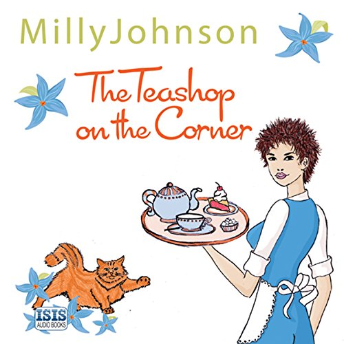 The Teashop on the Corner audiobook cover art