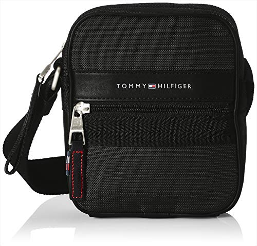 Tommy Hilfiger ELEVATED NYLON, Sac Homme, Black, Taille...