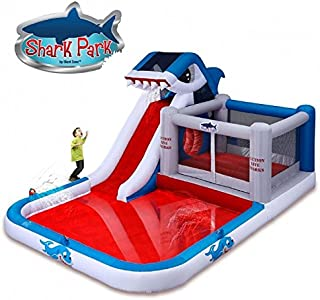 Best blast zone shark park inflatable water park bouncer Reviews