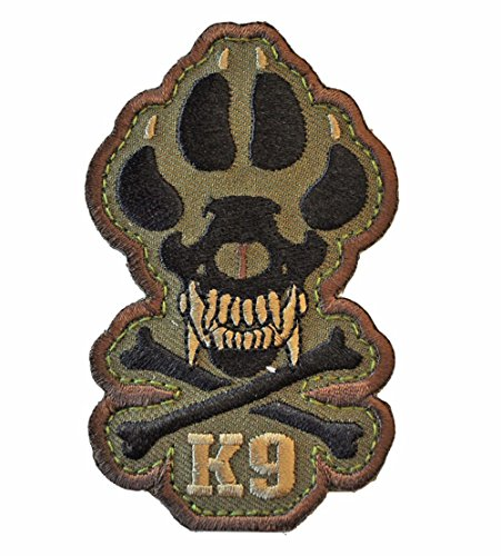 K9 Morale Patch (Woodland (Forest))