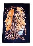 silkroude New Bob Marley und Löwe Textil Poster Flagge Wand aufhängen Tapisserie Baumwolle Wand Kunst