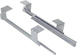 Emuca Rollagerlopers voor onder bureau trefwoord platform/plank/lade, grijs