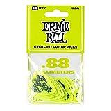 Ernie Ball .88mm Verde Everlast Plettri 12 per confezione