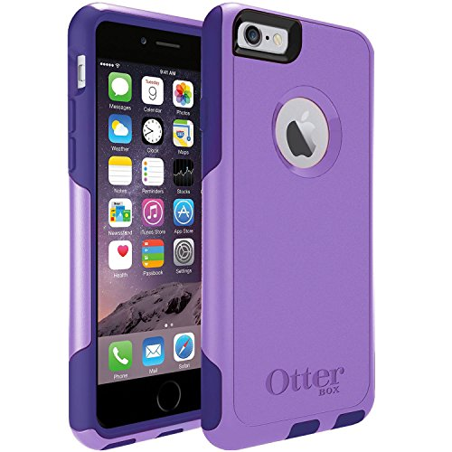 OtterBox COMMUTER SERIES for iPhone 6S Plus - Retail Packaging - Purple