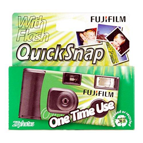 Fujifilm Quicksnap Super 400 135-27 - Cámara desechable y película