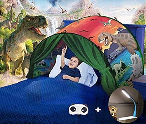 Nifogo Bettzelt,Bed Tents,Traumzelt,Dream Tent,Children's Tents,Kid's Fantasy,Drinnen Kinder,Space Tents,Jungen und Mädchen Weihnachten Geburtstagsgeschenk (Grün)