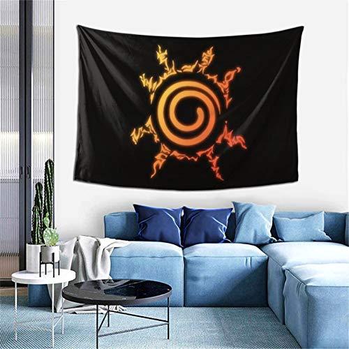 Anime NARUTO Uzumaki Naruto Tapiz para ventana, decoración del hogar, cortina para dormitorio, collage, oficina, 60 x 40 pulgadas