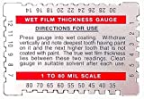 Dual Scale Wet Film Gauge.