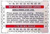 Dual Scale Wet Film Gauge.