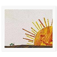はらぺこあおむし SunDIY 数字油絵 キャンバスの油絵 手塗り 57* 47 cm 絵画 大人の子供のためのギフト 数字キットでペイント インテリア アートフレーム ホームデコレーション