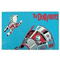The Dollyrots 衛星 Satellite 1000個の 木製ピース ジグソーパズル ワンピース (50x75cm) ジグソーピース 立体パズル 木製ジグソーパズル 人気 ピースジグソーパズル