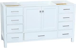 Design House 559047 Brookings Unassembled 2-Door Shaker Vanity 24x31.5x18 Espresso