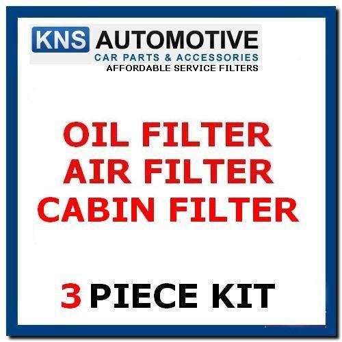 Focus MK2 1.8i, 2.0i (05-07) Öl, Air, Pollen Filter Service Kit (F21)
