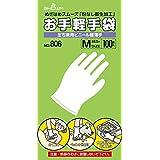 ショーワグローブ 【使い捨て手袋】No.806 お手軽手袋 100枚入 Mサイズ 1函