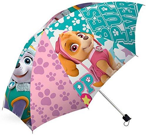 PAW Patrol Mädchen Welpen Kinder Regenschirm