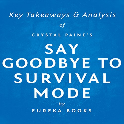 Say Goodbye to Survival Mode by Crystal Paine audiobook cover art