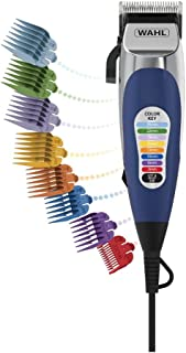 Wahl Colour Pro Home Hair Clippers Trimmer Haircut Kit 18 Pce