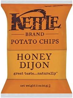 Kettle Honey Dijon Kettle Chips, 2-Ounce (Pack of 12)