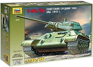 Zvezda 1/35 Zvezda No.3535 Soviet Medium Tank T-34/76 Model 1942