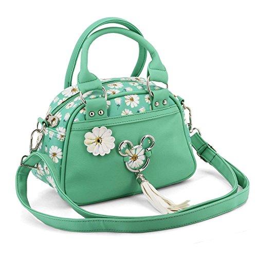 KARACTERMANIA Mickey Mouse Aqua-Bowling Fashion Handbag Umhängetasche, 22 cm, Türkis (Turquoise)