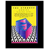 Mini-Poster, Motiv Strokes – Angles Matted – 28,5 x 21