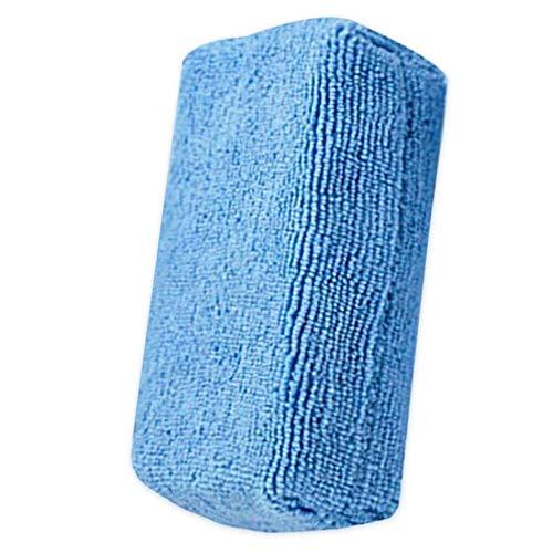 Hanpiyigqjhm Don Limpio, Lavado de Autos Forma de U Neumático Cera de Pulido de Cera Esponja ARC Edge Sponge Tire Cepillo Limpieza de automóviles Productos de Esponja para Accesorios para automóviles